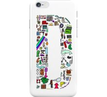 BS ABC's: D iPhone Case/Skin
