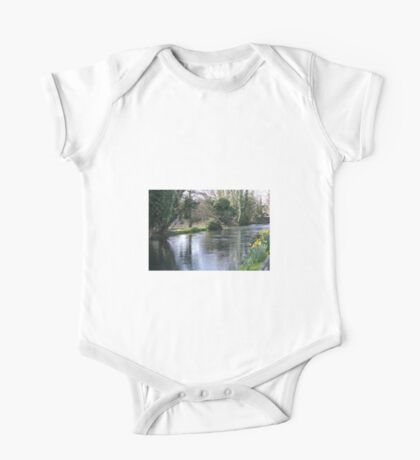 Spring Water One Piece - Short Sleeve