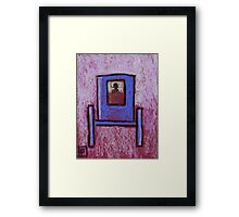 The contraption Framed Print