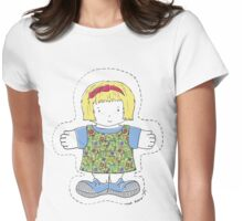Rag Doll Lensie Womens Fitted T-Shirt