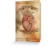 You Are My Queen Greeting Card