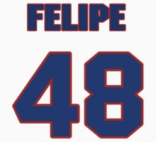 National baseball player Felipe Alou jersey 48 by imsport