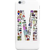 BS ABC's: M iPhone Case/Skin