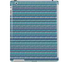 Knitted Pattern Set 24 - Blues 2 iPad Case/Skin