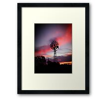 Stand Alone.....Mannum Framed Print