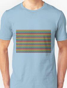 Knitted Pattern Set 21 - Rainbow 4 T-Shirt