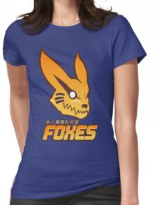 Konoha Foxes Team Womens Fitted T-Shirt