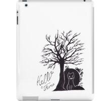 Tree cat iPad Case/Skin