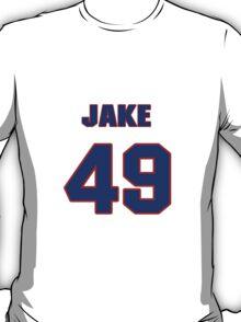 National baseball player Jake Arrieta jersey 49 T-Shirt