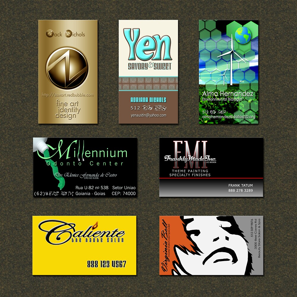 Business Cards by Zack Nichols