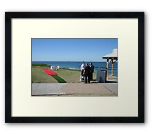 Waiting for the Decisive Moment Framed Print