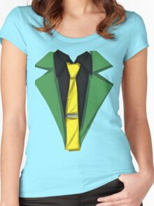 Lupin III - Spring Green Women's Fitted Scoop T-Shirt