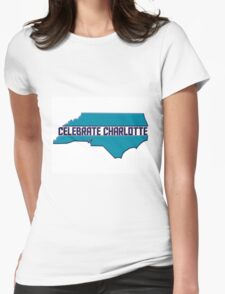 Celebrate Charlotte Womens Fitted T-Shirt