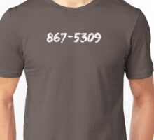 Jenny's Number (Light) Unisex T-Shirt