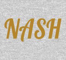 Simple Nash Logo One Piece - Short Sleeve