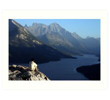 Waterton Lakes National Park Art Print