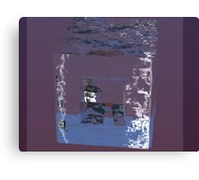 Water Cube Canvas Print