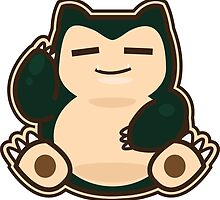 Snorlax by Skull And Cubone Society