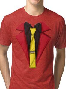 Lupin III - Hot Rod Red Tri-blend T-Shirt