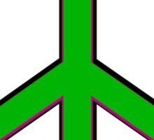 Triple Peace Sticker