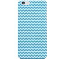 Blue Chevrons iPhone Case/Skin
