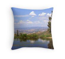 Small Lake above Farmington Canyon  Throw Pillow
