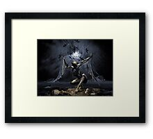 Dreams of Flying or Sleep Paralysis Framed Print