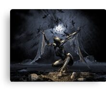 Dreams of Flying or Sleep Paralysis Canvas Print