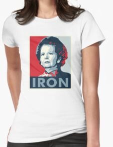 The Iron Lady Womens Fitted T-Shirt