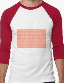 Orange Chevrons Men's Baseball ¾ T-Shirt