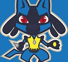 Lucario by gizorge