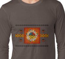 Feathered Katsina Sunface Long Sleeve T-Shirt