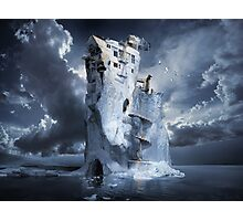 Ice Age Premonition or Infinite Iceberg Synthesizer Photographic Print