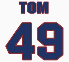 National baseball player Tom Spencer jersey 49 by imsport