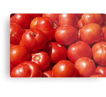 Farmers Market Tomatoes Metal Print