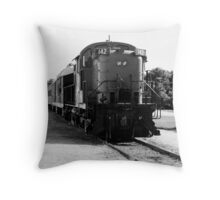 The Katy Line III Throw Pillow