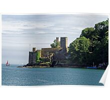 Dartmouth Castle, Devon, UK Poster