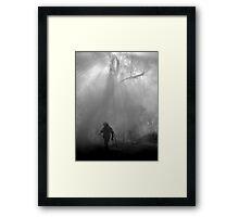 Lone fighter Framed Print