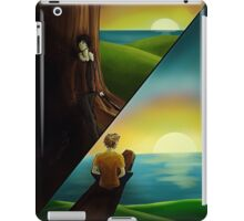 Nico and Will Solace at Camp Halfblood iPad Case/Skin