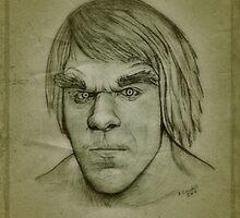 Vintage Incredible Hulk, Lou Ferrigno drawing by RobCrandall
