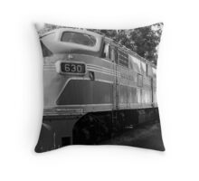 The Rock Island Rocket II Throw Pillow