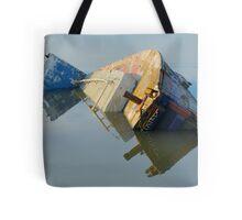 Semi-Sunken Symmetry Tote Bag