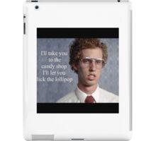 Napoleon Dynamite Pic Quote iPad Case/Skin