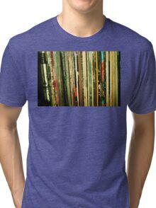vinyl life Tri-blend T-Shirt