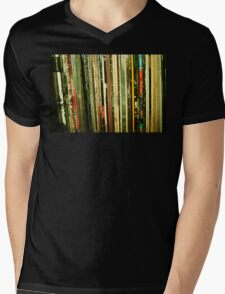 vinyl life Mens V-Neck T-Shirt