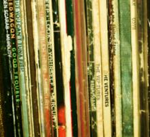 vinyl life Sticker