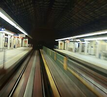 City train ride by eugeneyong