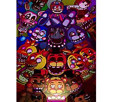 Five Nights at Freddys Photographic Print