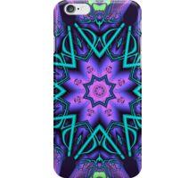 Decorative star in an artistic kaleidoscope iPhone Case/Skin