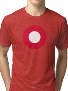 Roundel of the Royal Danish Air Force Tri-blend T-Shirt